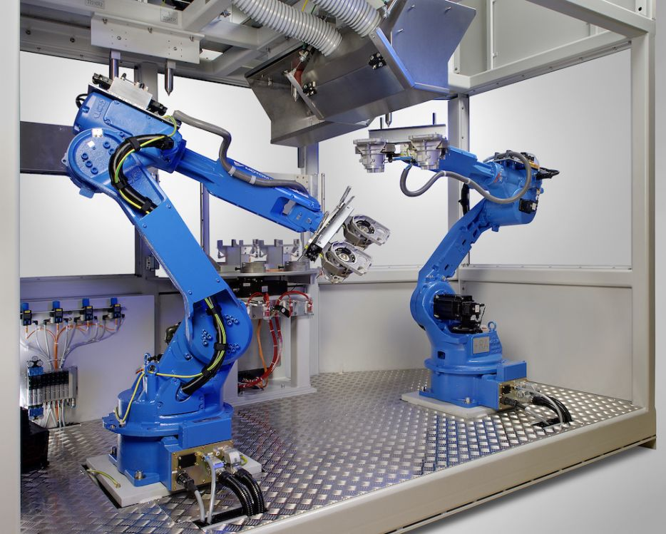 Plasma Robot Systems: ompletely automated solutions for integrated plasma applications